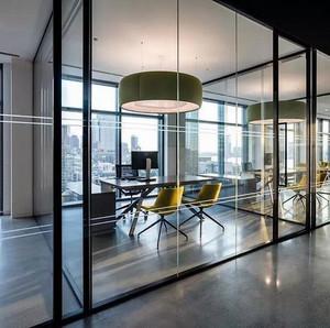 都市办公室装修设计图