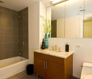 卫生间墙地砖装修效果图赏析