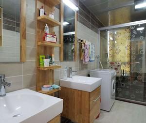 自然风格卫生间装修案例