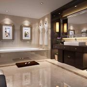 卫生间现代瓷砖大户型装修