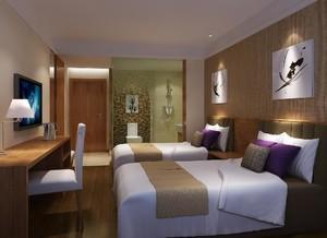 现代风格酒店装修设计效果图