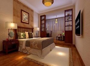中式卧室装修风格效果图