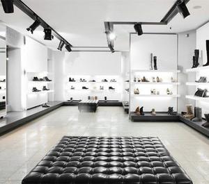 80平现代简约风格鞋店装修效果图