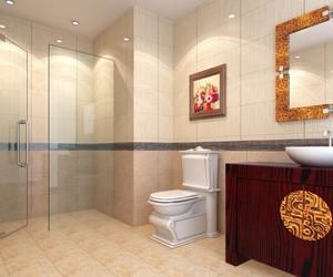 大户型中式卫生间装修效果图