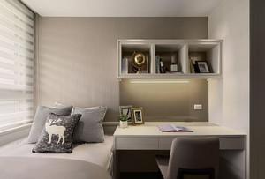 都市素雅风卧室书房装修效果图