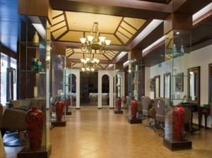 中式风格高级美发店装修效果图欣赏