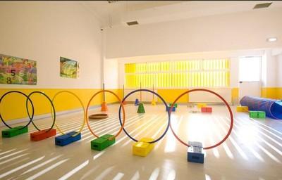 幼儿园自然风格室内装修设计效果图