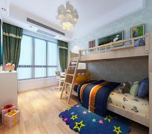 高低床儿童房装修效果图赏析