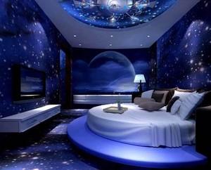 40平米清新风格酒店室内设计效果图