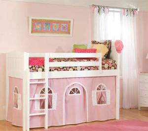 粉色系儿童房装修效果图赏析