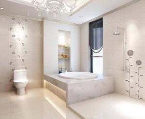 现在法国别墅卫浴装修效果图