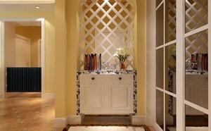 三居室现代风格玄关装修设计效果图