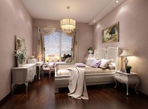 现代风格白色卧室装修效果图