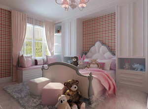 儿童卧室简单装修风格效果图