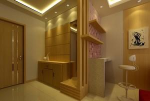 简约风格三居室玄关装修设计效果图