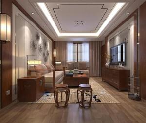 中式风格会客厅装修效果图