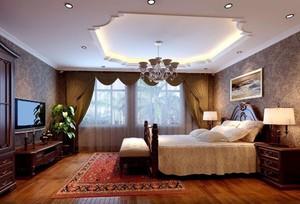 简约风格卧室吊顶装修设计效果图
