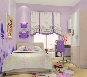 欧美风格小户型儿童房装修图
