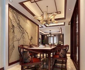 大户型餐厅吊顶装修设计效果图