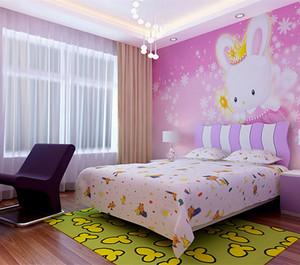 粉色系儿童房装修效果图