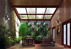 美式入户花园设计图