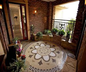 美式别墅入户花园设计