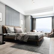卧室现代局部大户型装修
