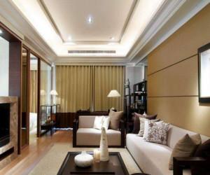 大户型中式风格客厅吊顶装修效果图赏析
