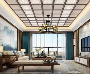 豪华别墅会客厅装修效果图