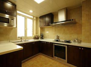 现代厨房装修设计欣赏图