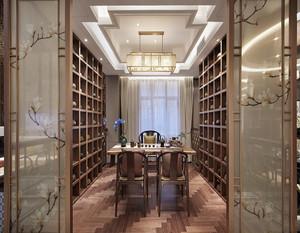 新中式风格书房装修效果图大全