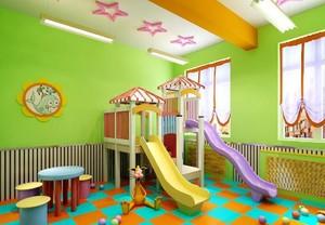 简约风格幼儿园室内装修设计