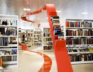 100平方米书店装修效果图