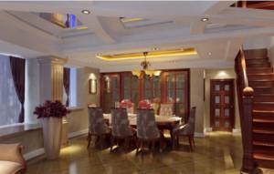 中式风格餐厅装修设计说明
