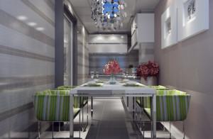 120平米餐厅装修效果图