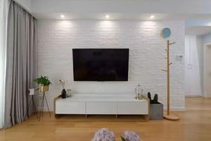 北欧风电视背景墙设计