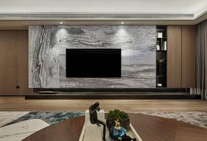 大理石质感电视背景墙