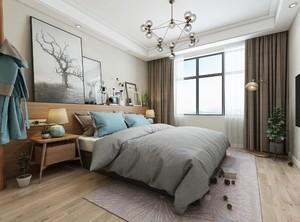 2019北欧风格卧室装修效果图