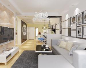 现代简约客厅沙发效果图