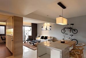 现代简约风格客厅装修效果图赏析
