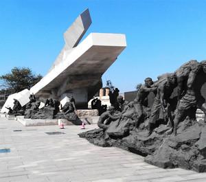 博物馆外侧雕像装修效果图