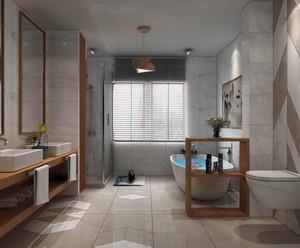 中式别墅卫生间装修案例图片