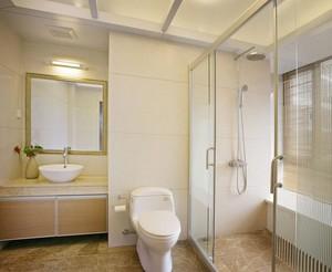 现代风格别墅卫生间干湿分离设计效果图