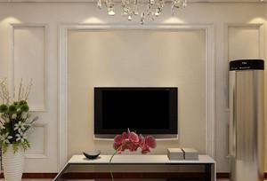 电视背景墙简单造型