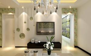 现代装饰背景墙效果图