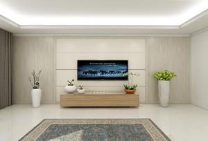 简单大方漂亮的电视墙图片