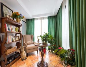 客厅美式田园风格窗帘
