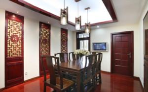 中式风格餐厅装修设计