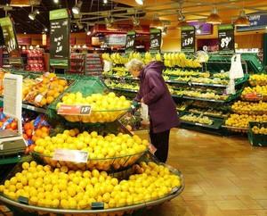 超市水果店装修效果图