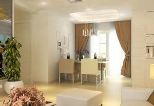 简约客厅吊顶装修设计效果图